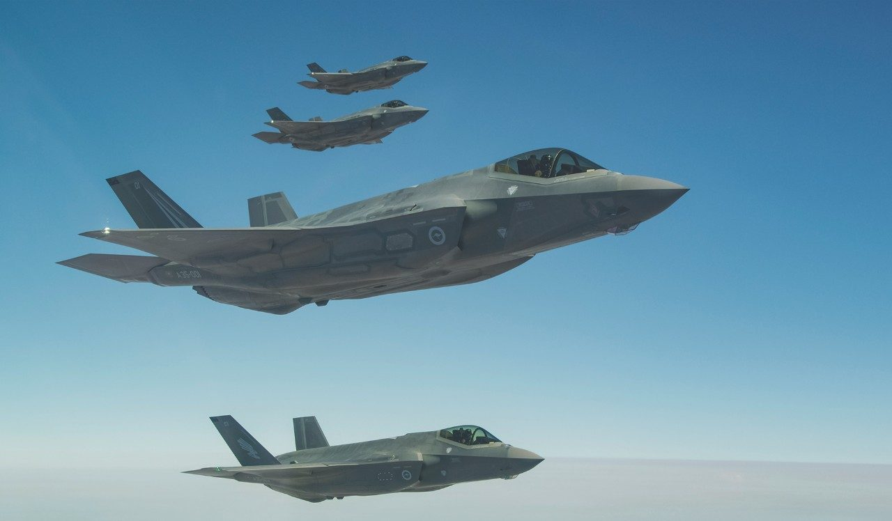 F-35 Global Partnership with Australia
