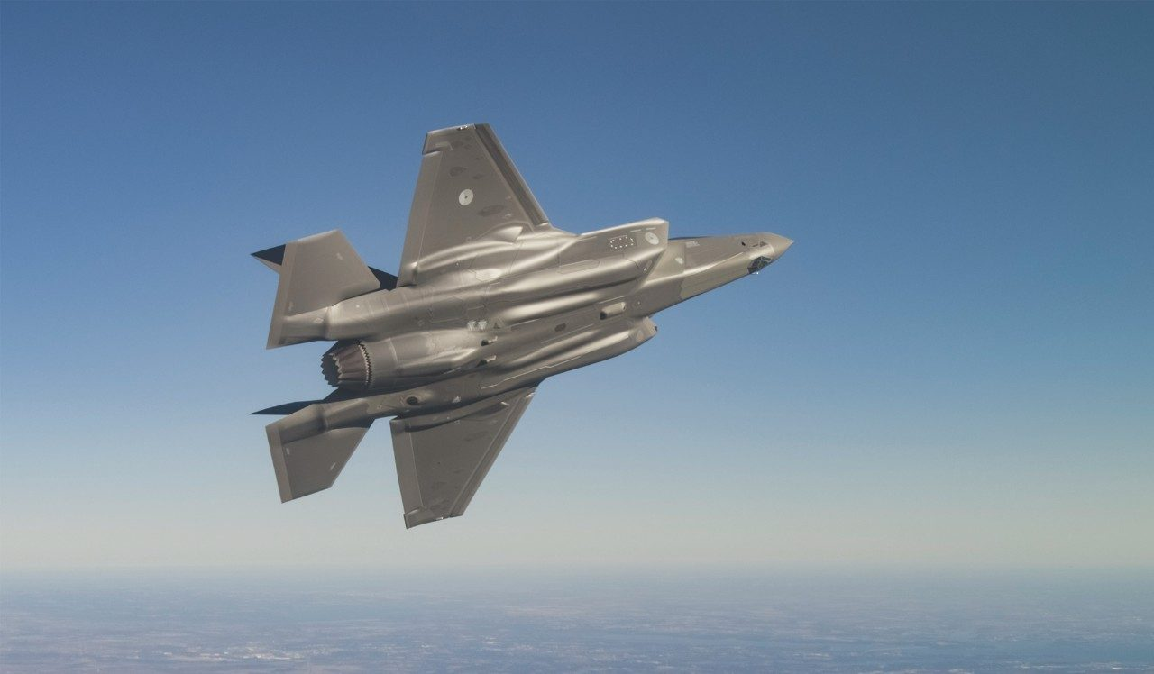 F-35 Global Partnership with the Netherlands