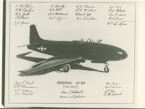P-80 Shooting Star Poster