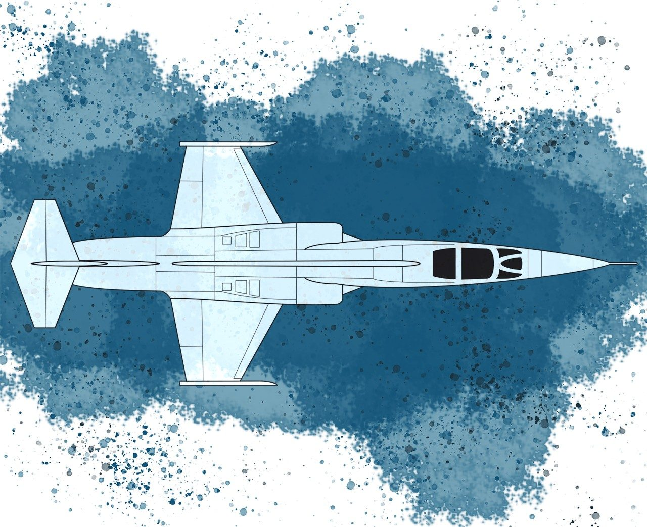 Second Generation Jet Fighter