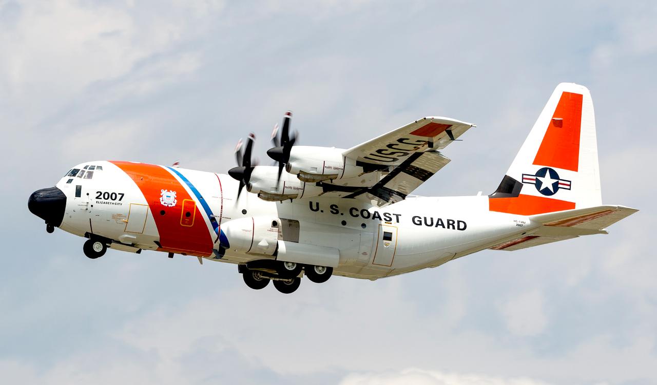 hc 130j coast guard lockheed martin
