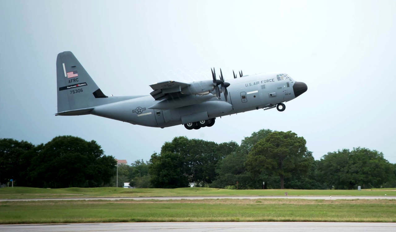 WC-130J Weatherbird