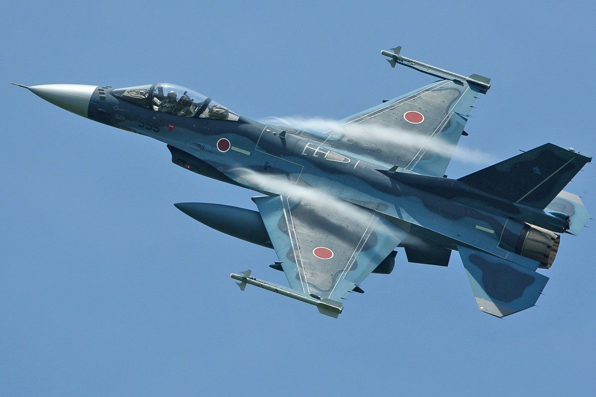 Lockheed Martin Supports Japanese F-2 Restoration Program