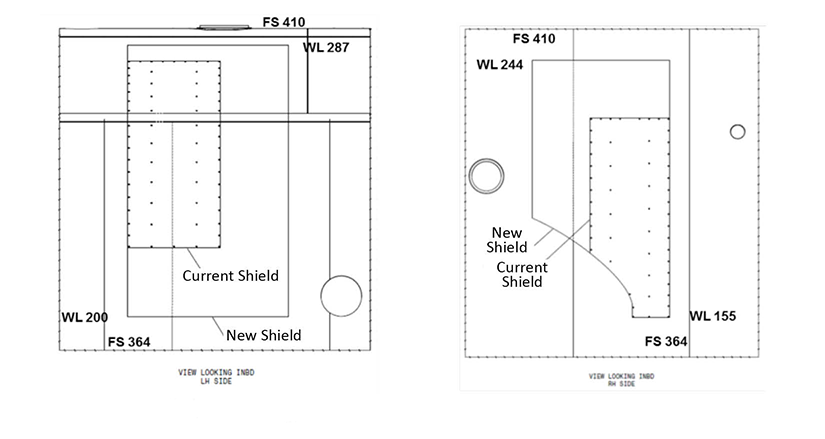 Ice Shield Technical Drawings