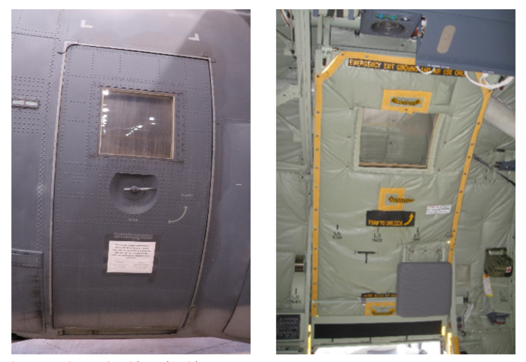 C-130 Paratroop Door Kit | Lockheed Martin