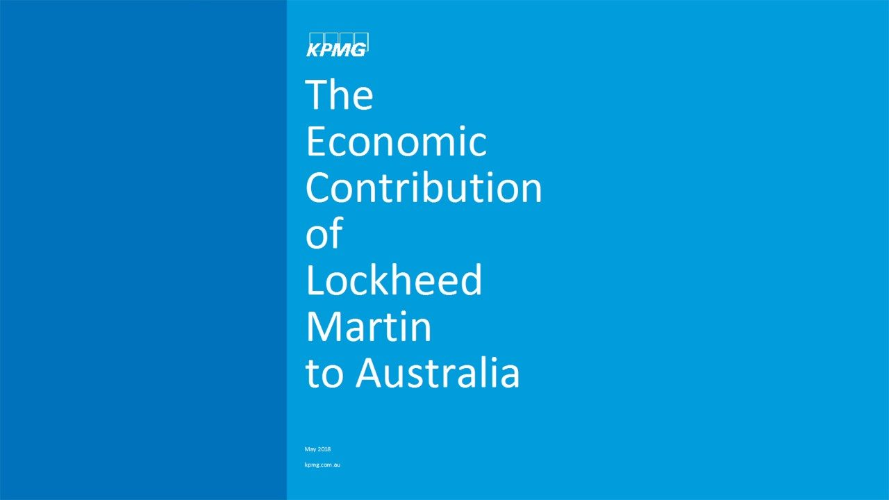 The Economic Contribution of Lockheed Martin to Australia