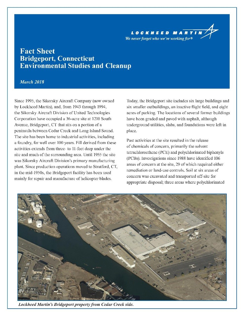 Bridgeport Fact Sheet 2018