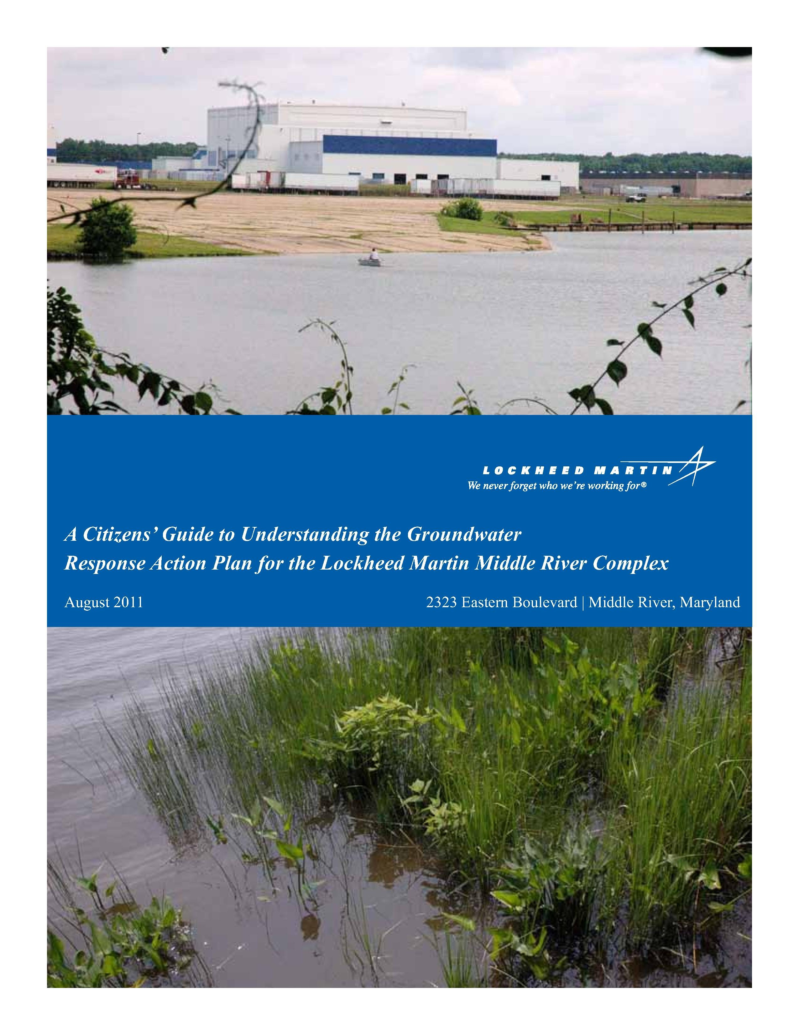 A Citizens Guide to Understanding the Groundwater Response Plan 2011