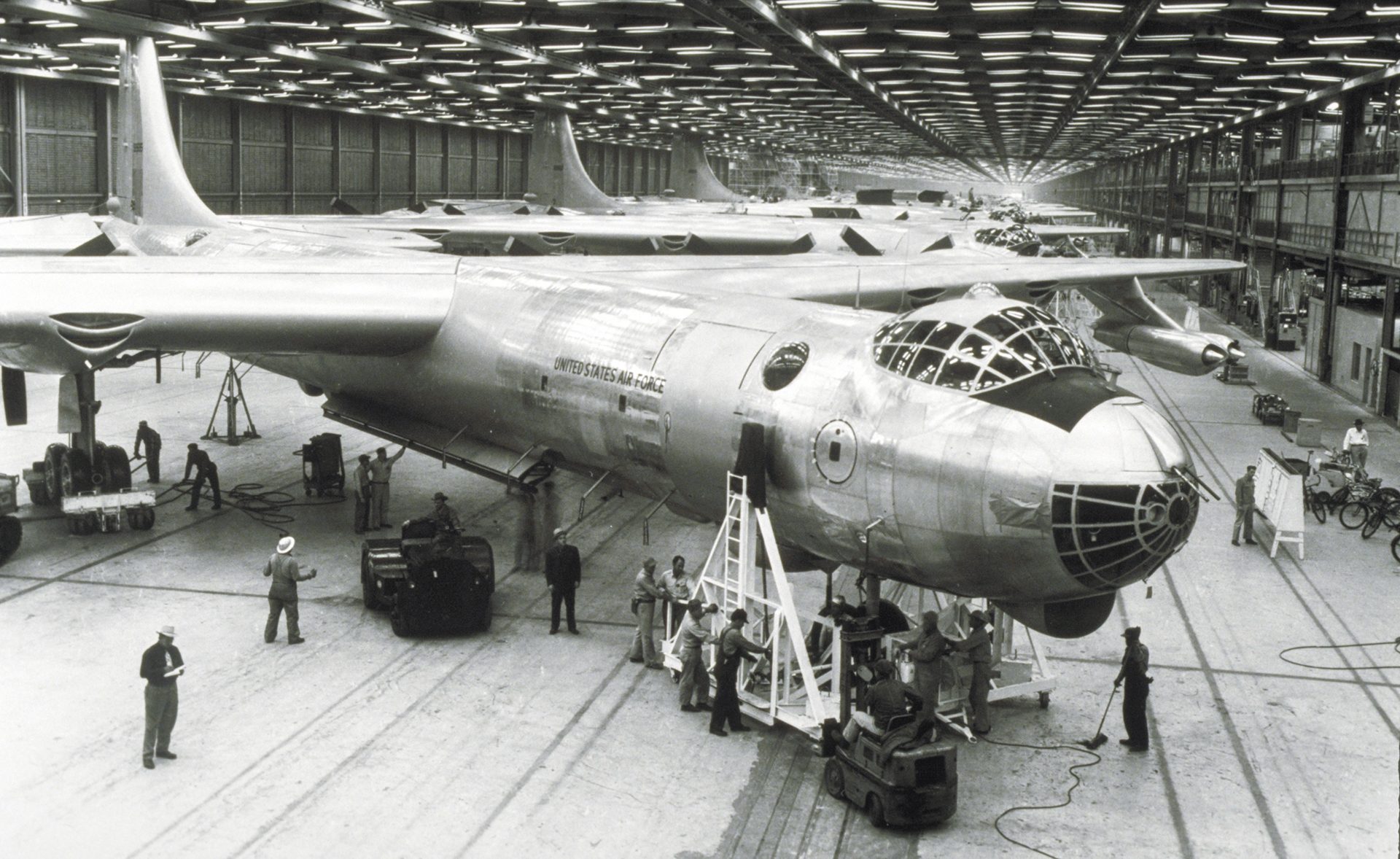 B-36 Peacemaker during production