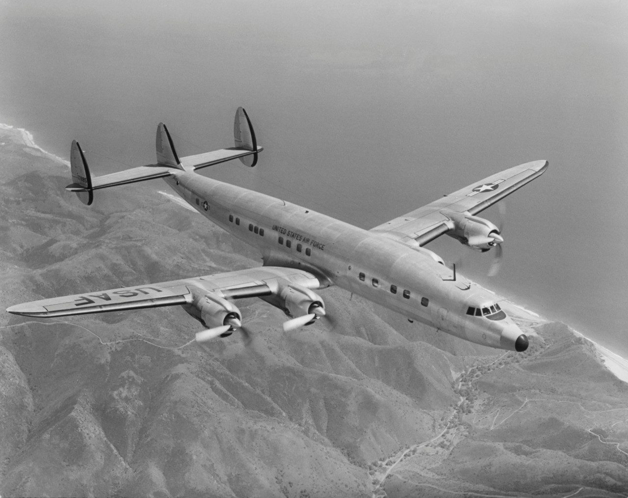 How The Constellation Became Star Of Skies Lockheed Martin Aircraft Wiring Books M 049