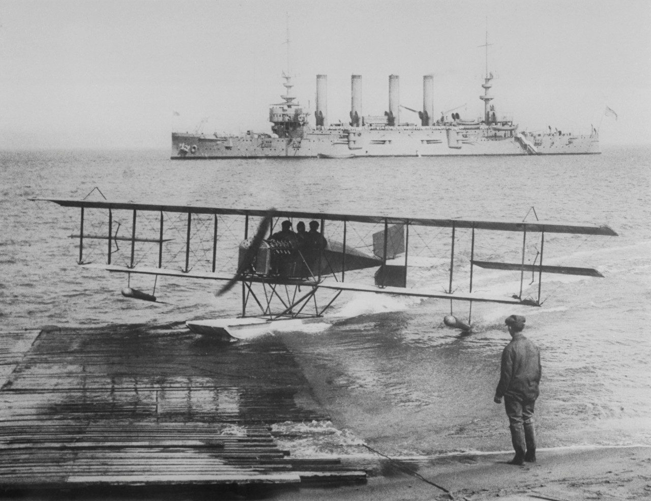 The Model G at San Francisco Bay during the Panama-Pacific Exposition in San Francisco