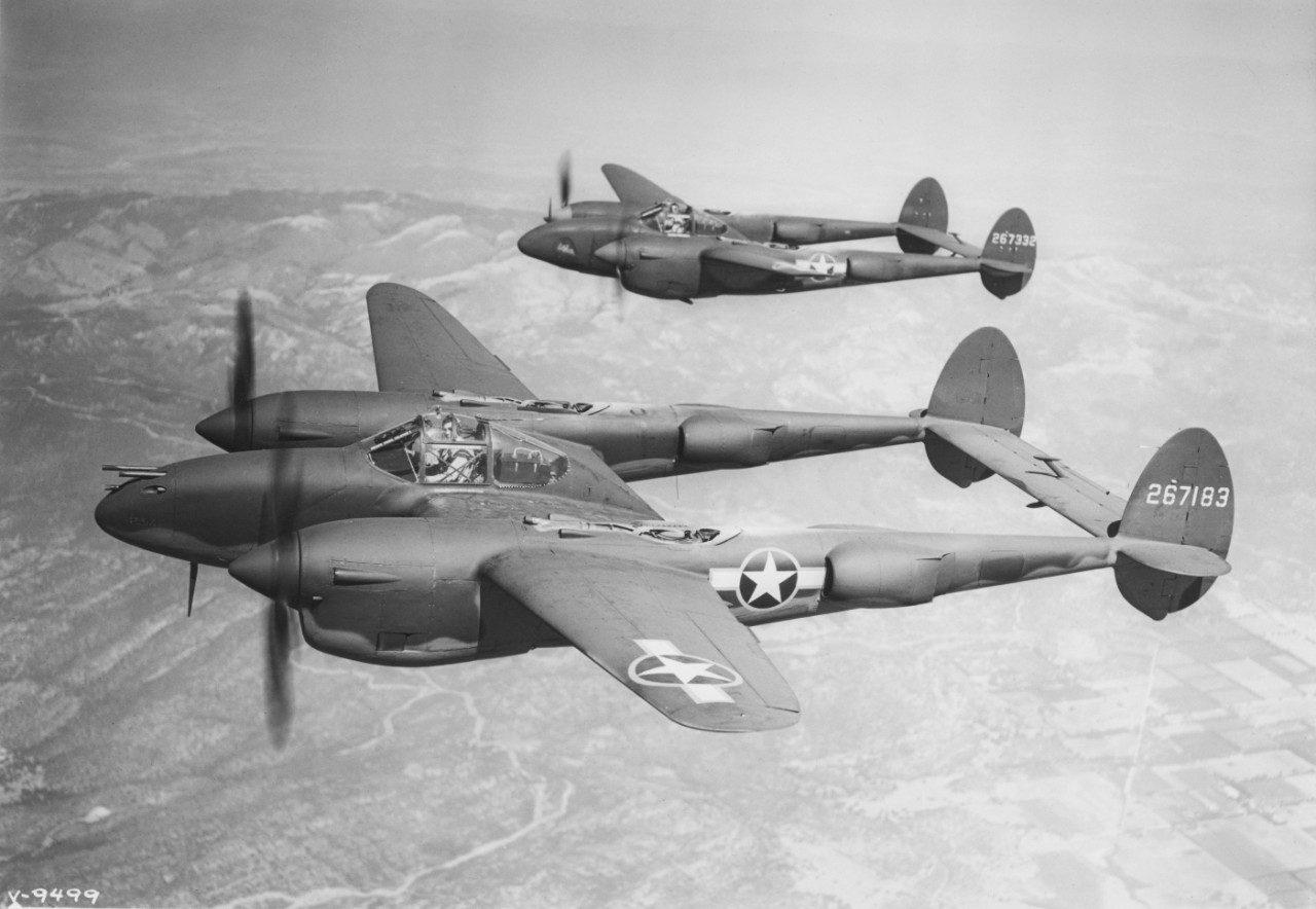 Lockheed P 38 Lightning In Wwii