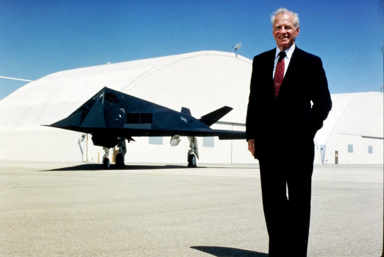 Ben Rich with the F-117