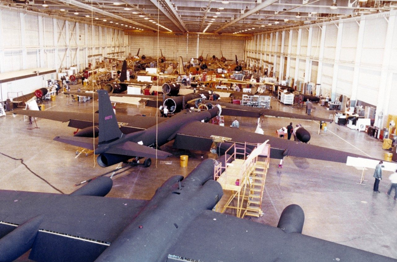 U-2 upgrades during the 1980s