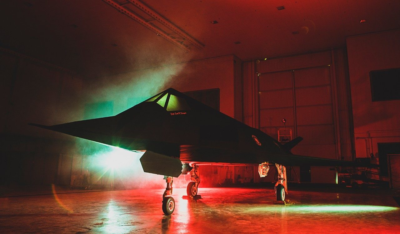 F-117 Nighthawk Official Unveiling at Ronald Reagan Presidential Library