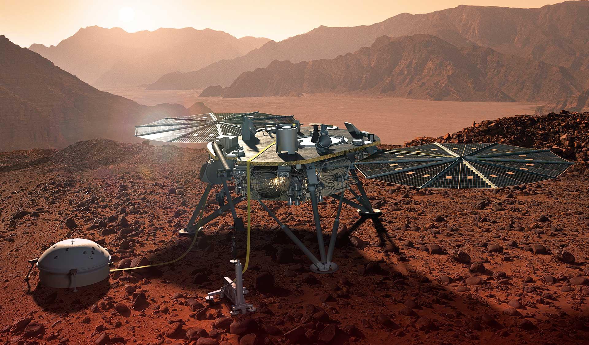 The Adventure Begins Insight Mars Lander Lockheed Martin