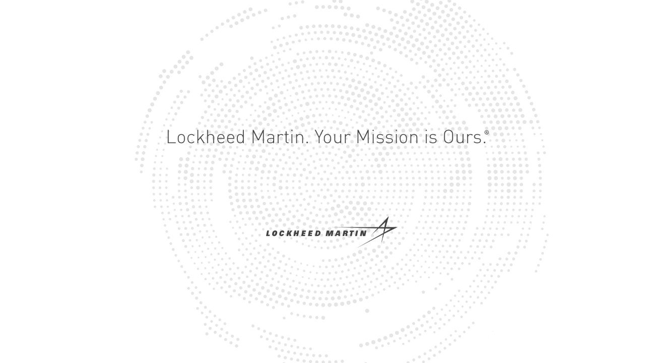 Lockheed Martin. Your Mission is Ours.