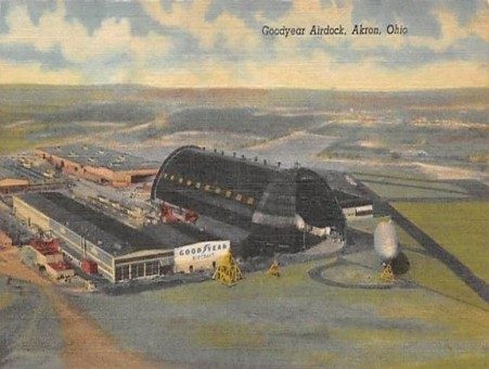 Vintage Postcard of the Airdock