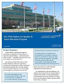 Site-Wide Indoor Air Quality & Vapor Intrusion Program 2016