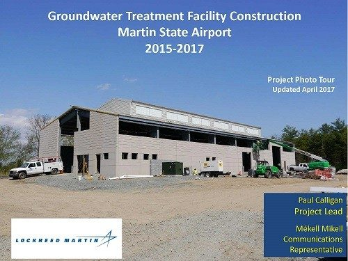 Groundwater Treatment Facility Construction Photo Tour Spring  2017