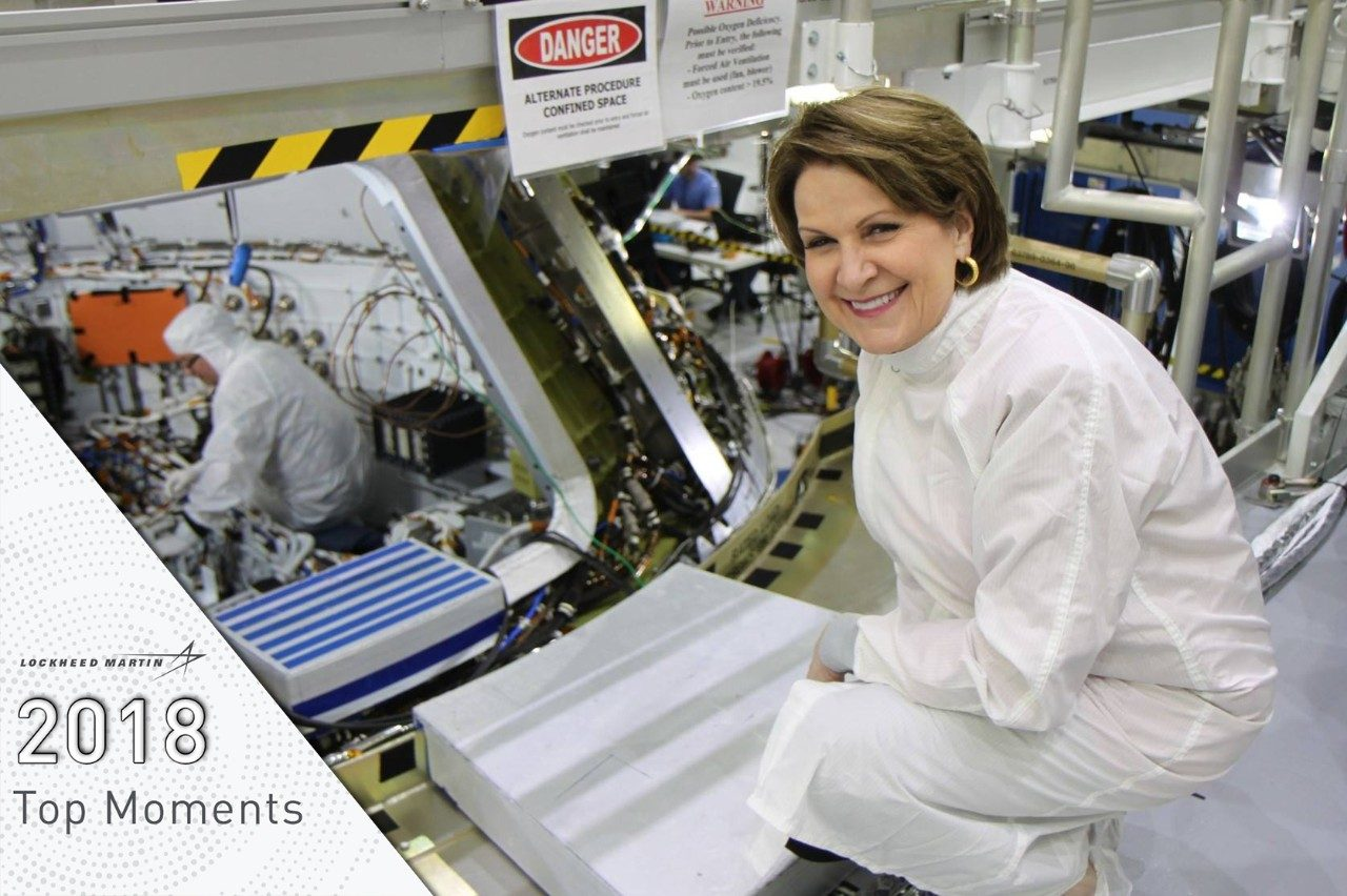 Marillyn Hewson visits Orion