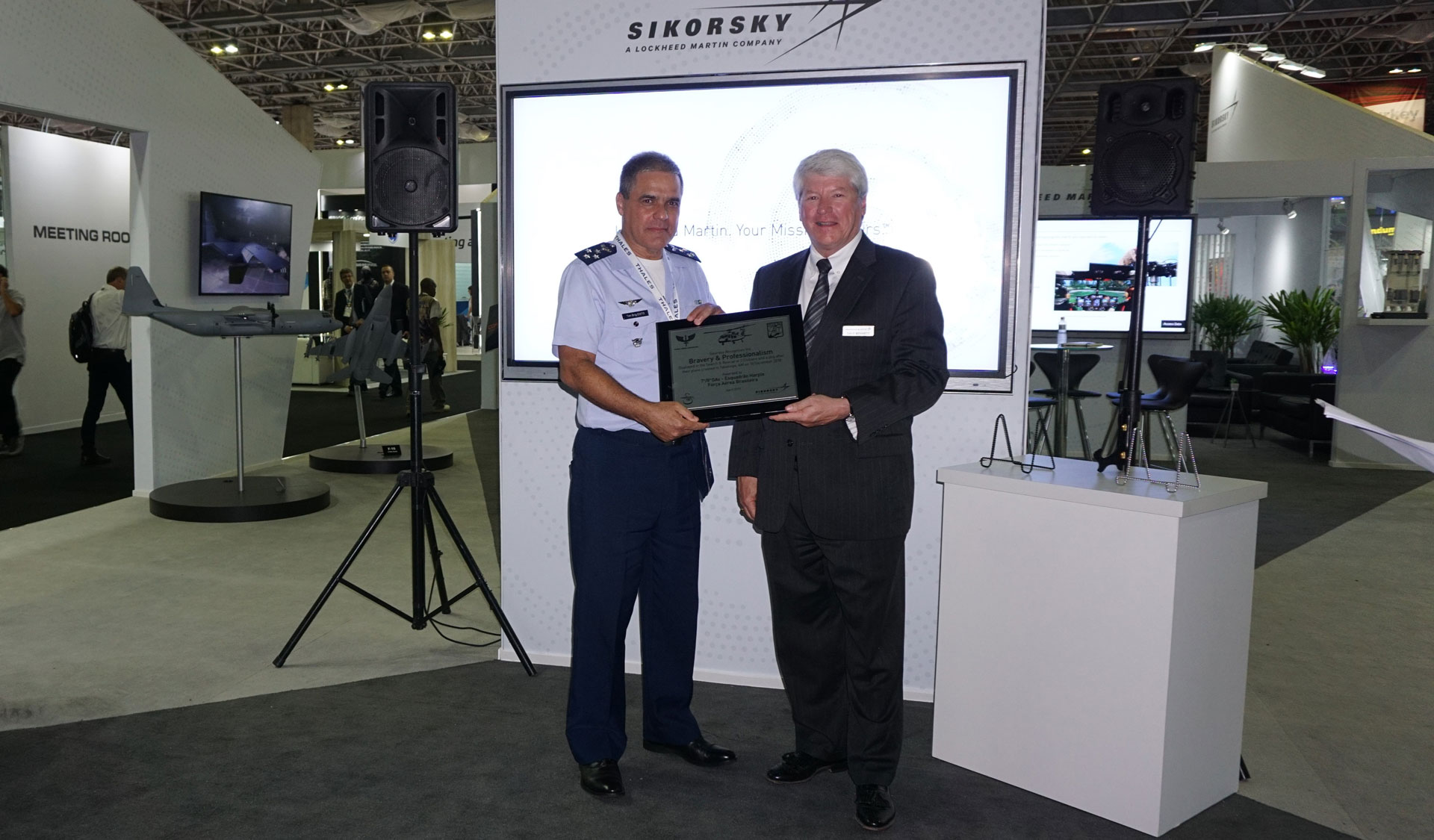 Sikorsky Honors Lives Saved by Brazilian Armed Services, Commemorates Brazil Army Aviation 100th Anniversary
