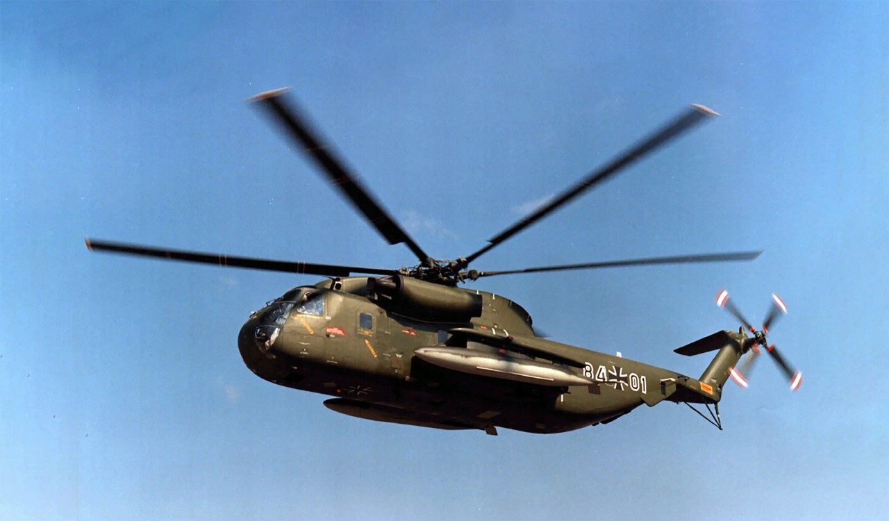 Sikorsky Poised to Sustain German CH-53G Helicopter Fleet