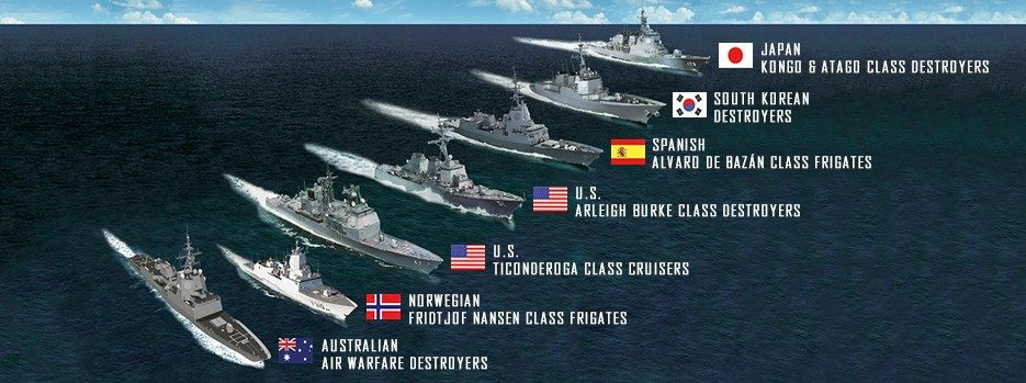 Global Aegis Fleet