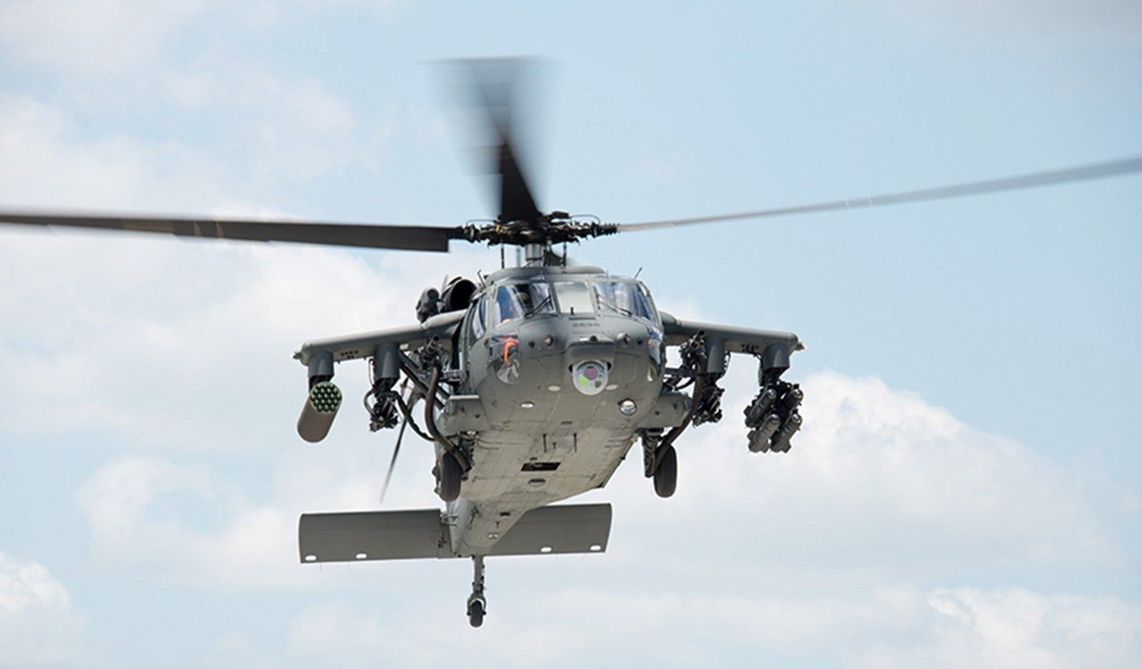 We're expanding the BLACK HAWK helicopter's armed capabilities.