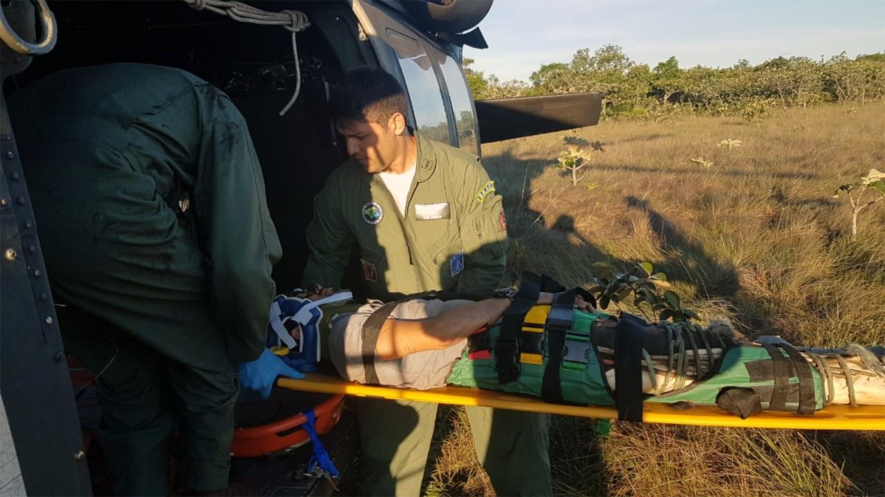 Brazilian Air Force Saves Two Lives after Three-Day Search