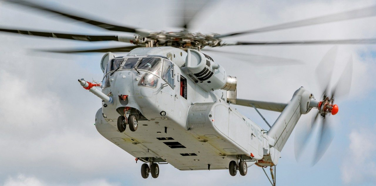 Sikorsky Ch 53k Helicopter Lockheed Martin Schematic 4 Wire Oxygen Sensor H3 No Matter The Mission Aircraft Provides Highest Degree Of Safety For Its Crew And Occupants In All Conditions