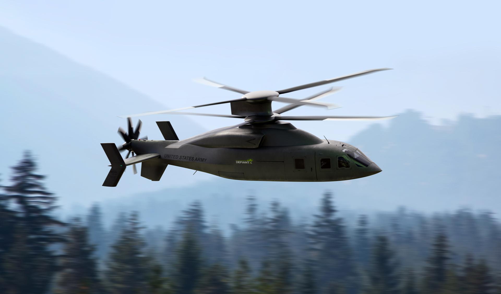 Future Vertical Lift: DEFIANT X™   Lockheed Martin