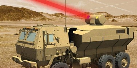 laser weapon systems for army tactical vehicle