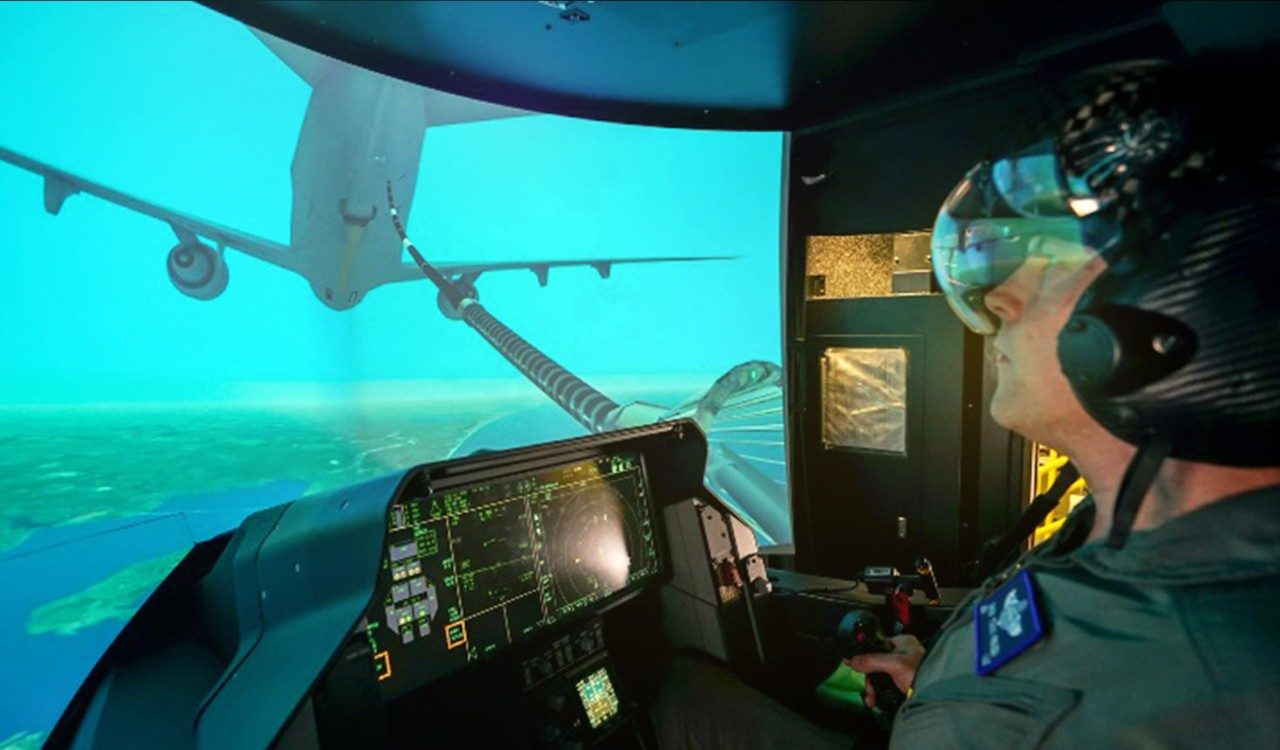 F-35 Training Gains Altitude