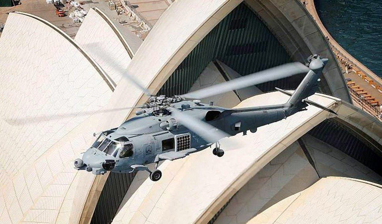 Royal Australian Navy MH-60R Helicopter Program Builds on 2014 Success