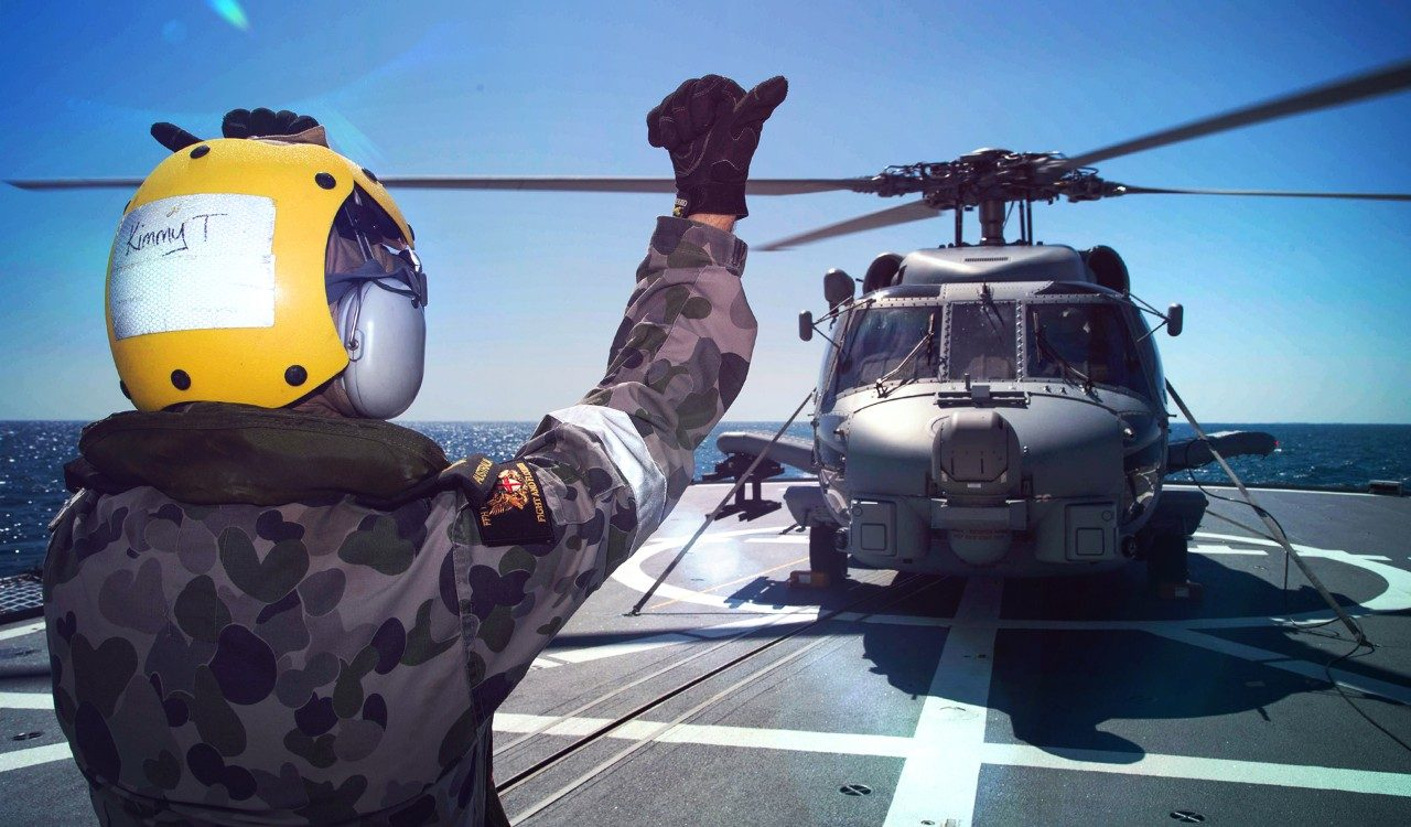 Team Seahawk Continues MH-60R Helicopter Deliveries to RAN Ahead of Schedule