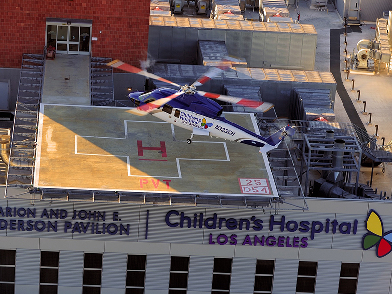 Saving Children's Lives Using S-76® is Helinet's 'Most Important Mission'
