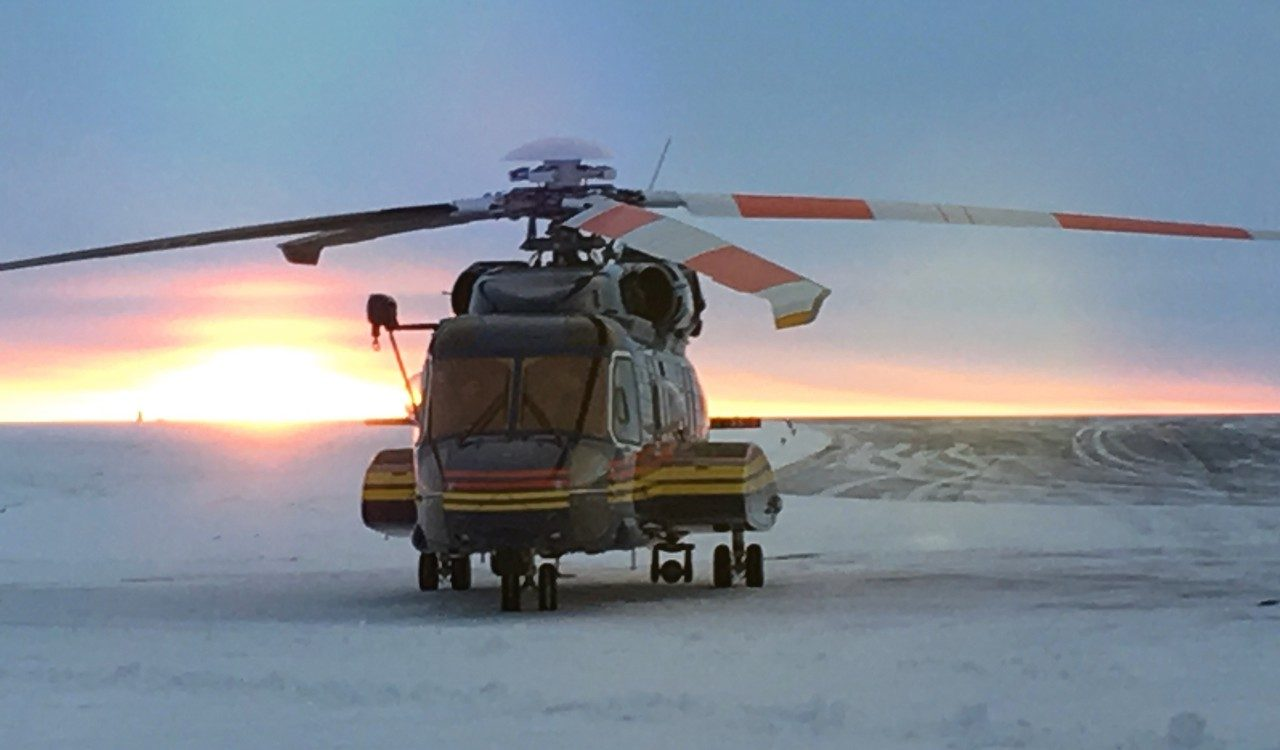 S-92 Helicopter Saving Lives On Top of the World