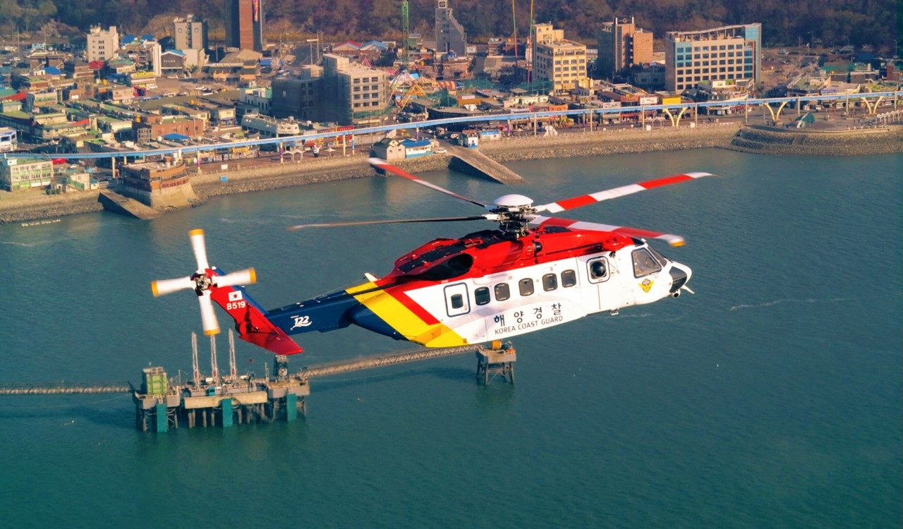 Sikorsky Celebrates Two South Korean Coast Guard Crews with