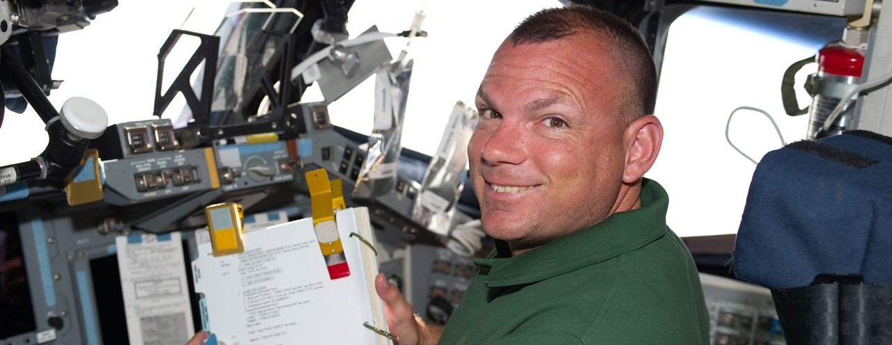 Tony Antonelli seen here as the shuttle pilot of STS-132. Photo: NASA