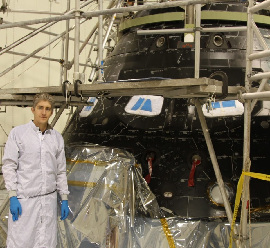 Phil Marcilliat, an Orion engineer